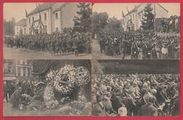 Rossignol - Manifestation Patriotique Des 18 Et 19 Juillet 1920 - 4 Cartes Postales ( Voir Verso ) - Tintigny