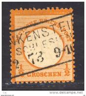 Allemagne  -  Reich  :  Mi  14  (o)  Signé - Geprüft - Gebruikt