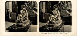 51 Paris: Louvre, Jenne Pécheur Napolitain, Par Rude.  ESTEREOSCOPICA. STÉRÉOSCOPIQUE. STEREOSCOPIC - Stereoscoop