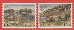 1986 ** Islande  (sans Charn., MNH, Postfrish)  Yv  603/4Mi  650/1FA  687/8 - Unused Stamps