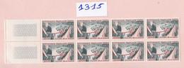 Un Bloc France De 10 Timbres Neufs ** N° 1315  Année 1962  Ville De Dinan - Ongebruikt