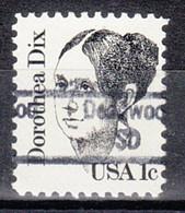 USA Precancel Vorausentwertung Preo, Locals South Dakota, Deawood 843 - Prematasellado