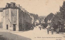 CARTE POSTALE   TULLE 19  Rue Du Pont Neuf - Tulle
