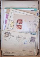 437 Db Küldemény 1876-tól + 17 Db Csomagszállító Szelvény, érdekes Anyag / 437 Covers, Postcards From 1876, Interesting  - Unclassified