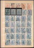 O 1900-1913 1.050 Db Turul Bélyeg Közepes Berakóban. Valamennyi Kiadás Szinte Minden Címlettel, A Koronás Záróértékekkel - Unclassified