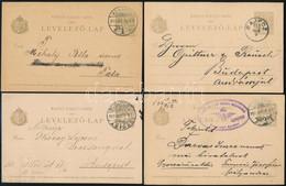 1900-1915 50 Db Díjjegyes Levelezőlap, Közte Szebb, Olvasható Bélyegzések / 1900-1915 50 PS-cards - Unclassified