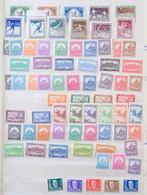 ** 1916-1957 Magyar Gyűjtemény Blokkok Nélkül, KABE Berakóban, Részletes Listával (643.000) / Hungary Collection In Stoc - Unclassified
