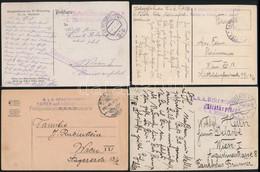 Tábori Posta Tétel, Benne 90 Db Küldemény, érdemes átnézni / Lot Of 90 World War Field Post Covers And Postcards - Unclassified