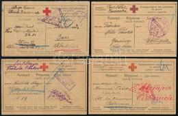 52 Db I. Világháborús Hadifogoly Küldemény Oroszországból / The Great War, 52 P.O.W. Cards From Russia - Unclassified