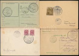 68 Db Visszatért Bélyegzésű Küldemény Illetve Lap (24 Klf) Listával / 68 Covers, Postcards Or Paper With Special Cancell - Unclassified