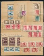 1954-1958 7 Db Pajtás Klf Frankatúrájú Postai Belkezelési Nyomtatvány - Unclassified