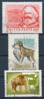 O 1956-1981 3 Klf. Bélyeg Lemezhibával (Kutya, K. Marx, Oroszlán) / 3 Diff. Stamps With Plate Variety (10.000) - Unclassified