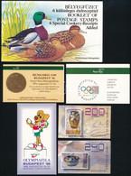 ** 1969-1998 11 Db Bélyegfüzet (28.000) / 11 Stamps Booklets - Unclassified