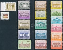 ** 1986-1992 18 Db Különféle Bélyeg Shil Papíron, Benne Kastély, Repülő és Postatörténet (53.400) / 18 Different Stamps  - Unclassified