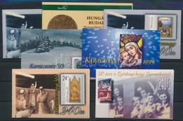 ** 1996-1999 7 Klf. Bélyegfüzet (14.500) / 7 Diff. Stamp-booklets - Unclassified