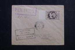 A.E.F. - Enveloppe 1ère Liaison Rapide A.E.F. / France En 1946, Affranchissement France Libre - L 73117 - Covers & Documents