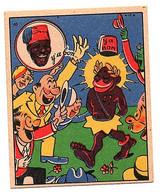 Rare Chromo Banania Ancienne VICA Pub Publicitaire De Y' A Bon Album Image N° 48 Collection Chocolat Humour Caricature - Otros