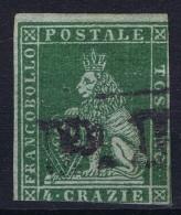 Italy  Toscana 1860  Sa  14, Mi.14 Used Obl. - Toskana