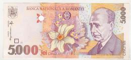 Romania 5000 Lei 1998 Uncirculated - Romania
