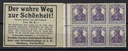 ⭐ Allemagne - Carnet - Michel N° H Blatt 15 ** - Neuf Sans Charnière - 1916 / 1917 ⭐ - Markenheftchen