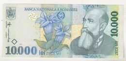 Romania 10000 Lei 1999 , Unc - Romania