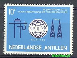 Netherlands Antilles 1965 Mi 148 MNH ( ZS2 DTA148 ) - Telecom
