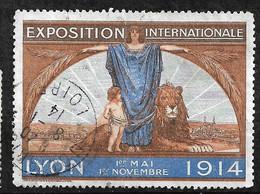 """France  Vignette """" Foire De Lyon 1er Mai -  1er Novembre 1914""""   Oblitéré  1914    B/ TB Soldé  ! ! ! - Tourisme (Vignettes)"""