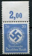 Deutsches Reich - Dienstmarken P OR ** - Service