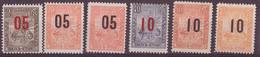 ⭐ Madagascar - YT N° 115 à 120 ** - Neuf Sans Charnière - 1912 ⭐ - Unused Stamps