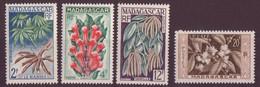 ⭐ Madagascar - YT N° 331 à 334 ** - Neuf Sans Charnière - 1956 / 1957 ⭐ - Ungebraucht