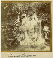 Gap . Charance . Les Cascades . Citrate Circa 1905 . - Places