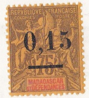⭐ Madagascar - YT N° 54 ** - Neuf Sans Charnière - 1902 ⭐ - Ungebraucht