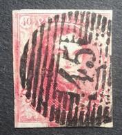 BELGIE 1849     Nr. 5   P 45    Ruim Gerand      Centraal Gestempeld   CW  575,00 - 1849-1850 Medallions (3/5)
