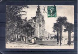 Monaco. Monte Carlo. Le Casino Et Les Terrasses - Terrassen