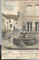 Saint Avold Fontaine Avec Croix De Lorraine - Saint-Avold