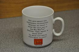 McDONALD's Mug-mok IMI-promotions Utrecht-brussels-paris Jaren 80/90 - McDonald's