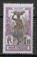 ⭐ Martinique - YT N° 126 ** - Neuf Sans Charnière - 1927 ⭐ - Unused Stamps
