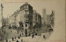 Gent - Gand / Rue Digue De Brabant Et Rue De Flandre (tram) Ca 1900 Sugg - Gent