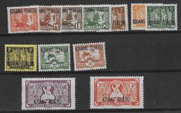 ⭐ Kouang Tchéou - YT N° 140 à 155 ** Sauf Les 148 /148A / 151 / 153 / 154 - Neuf Sans Charnière - 1942 / 1944 ⭐ - Unused Stamps