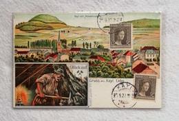 "U.P.U. Cartolina Postale Lussemburgo ""Gruss Aus Kayl"", Viaggiata Per Forlì 1922 - Gruss Aus.../ Gruesse Aus..."
