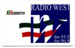 USATE  ESERCITO ITALIANO RADIO WEST - Public Practical Advertising