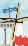 USATE  (LE CITTA' DELL'EURO ) VIA  OLANDA - Public Practical Advertising