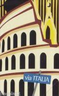 USATE  (LE CITTA' DELL'EURO ) VIA ITALIA - Pubbliche Figurate Ordinarie