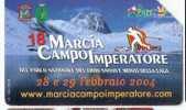 USATE 18 MARCIA CAMPO IMPERATORE GOLDEN Euro 286 - Pubbliche Figurate Ordinarie