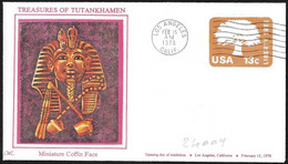 Stati Uniti/United States/États-Unis: Intero, Stationery, Entier, Tutankhamon - Egyptology