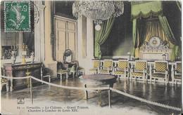 VERSAILLES  : Le Château - Grand Trianon - Chambre à Coucher De Louis XIV ( 1908) Carte Colorisée - Versailles (Château)