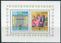 DDR - Mi 3038 / 3039 - ** Postfrisch - 25-85Pf  Leipziger Herbstmesse 86 - [6] Democratic Republic