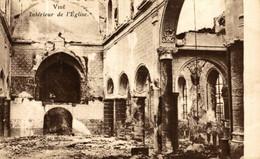 Visé. Intérieur De L'Eglise.   WWI WWICOLLECTION - Visé