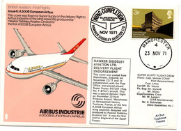 Manchester 1971 - Wing Completion Hawker Siddeley Aviation Ltd - Airbus & Super Guppy Flight - 1952-.... (Elisabetta II)