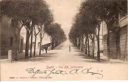 (C).Sestri Ponente(GE).Via XX Settembre.F.to Piccolo.Viaggiata (c17) - Genova (Genua)